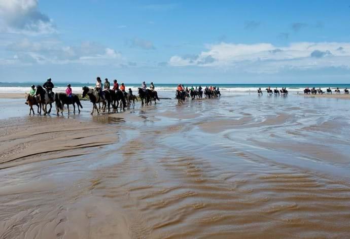 Pony Treking at Druidston