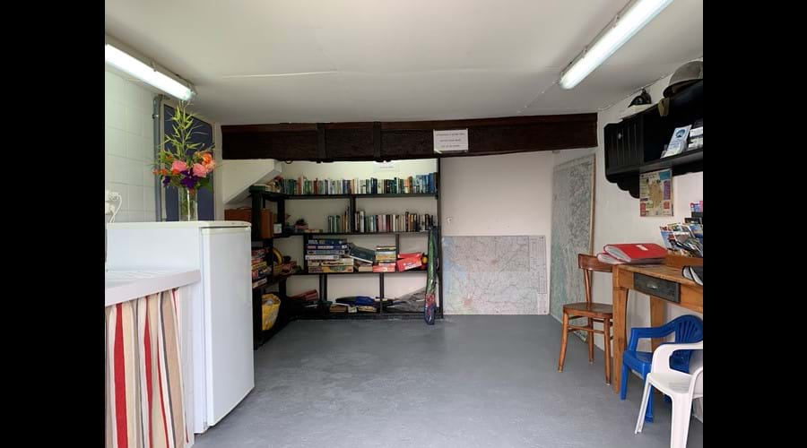 Guest Information Room - Tourist information, maps, indoor and outdoor games, books, DVDs etc