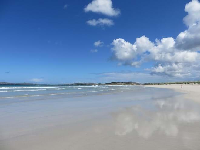 mullaghduffthatchedcottage carrickfinn blue flag beach
