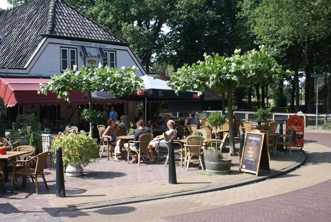 One of several restaurants and cafes in Diever