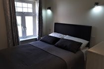 Atlantic Gold Lodge 35. Groundfloor Double Bedroom. Atlantic Reach Gold Lodges. www.newquay-selfcatering.com