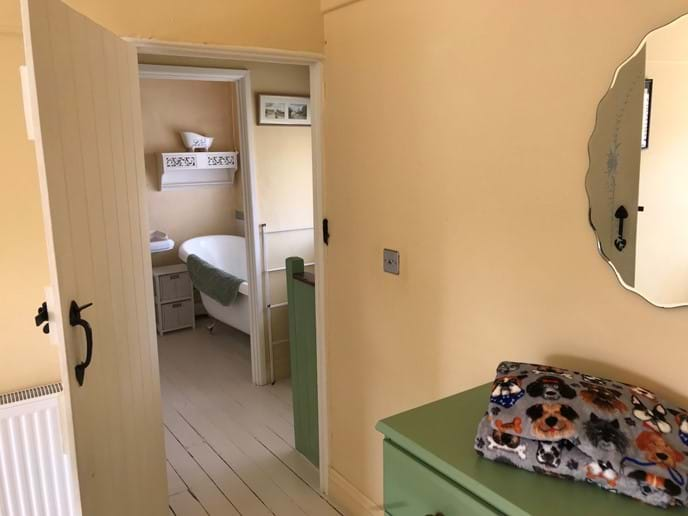 Looking from Double Room across to Landing and Bathroom