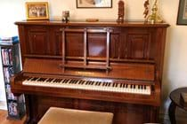 1924 Bechstein piano - tuned!