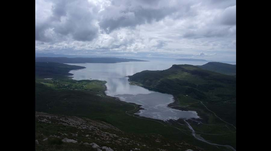 View from Beinn na Cro, july 2017.