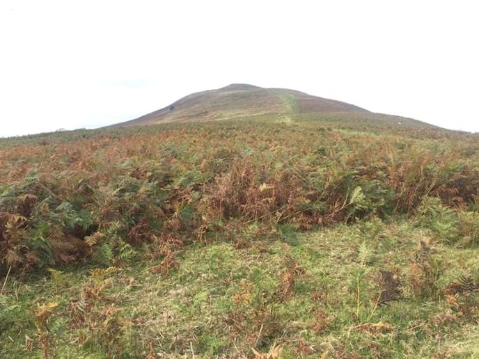 It's about 90-120 minutes from here to the top of Tor-y-Foel for spectacular panoramic views at the top