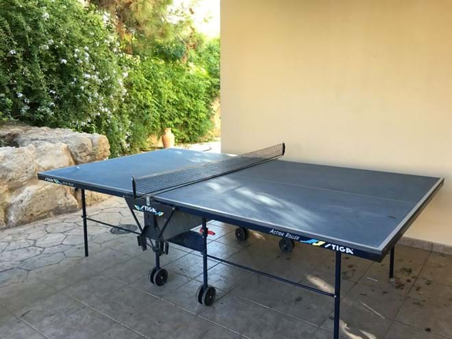Home from Home Cyprus - Private table tennis table