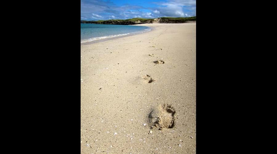 Deserted beaches, Bernera