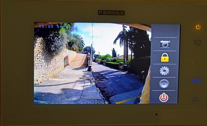 October 2015 - New CCTV monitors installed for added security at the entrance gates, guests can monitor and control the opening and closing of the gates.  CCTV of entrance points also installed.