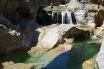 The rock pools at Duilhac - a day spent here will be the highlight of your stay!