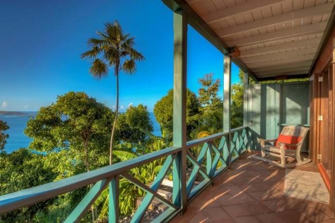 Balcony to enjoy the vista
