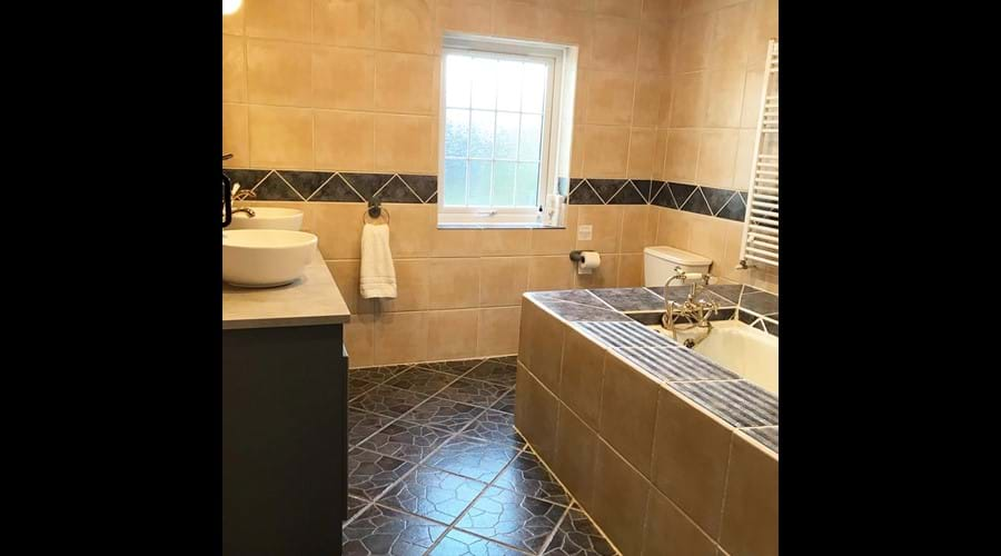 Master bathroom (downstairs)