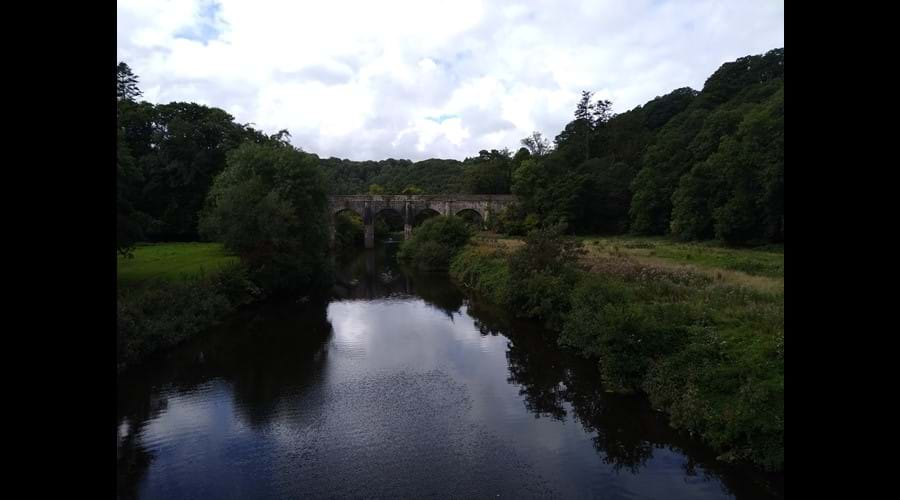 The Old Aquaduct viewed from the Tarka Trail