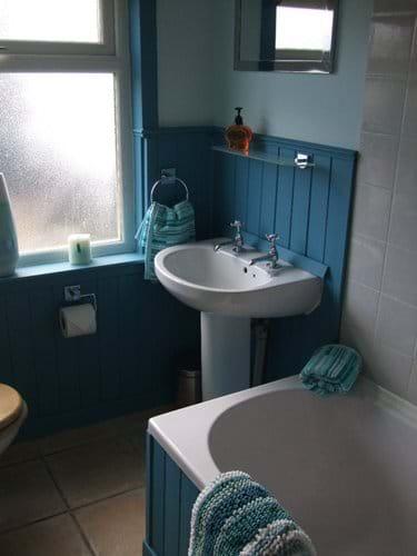 Bath/Shower room at Niaroo, Bowmore, Islay