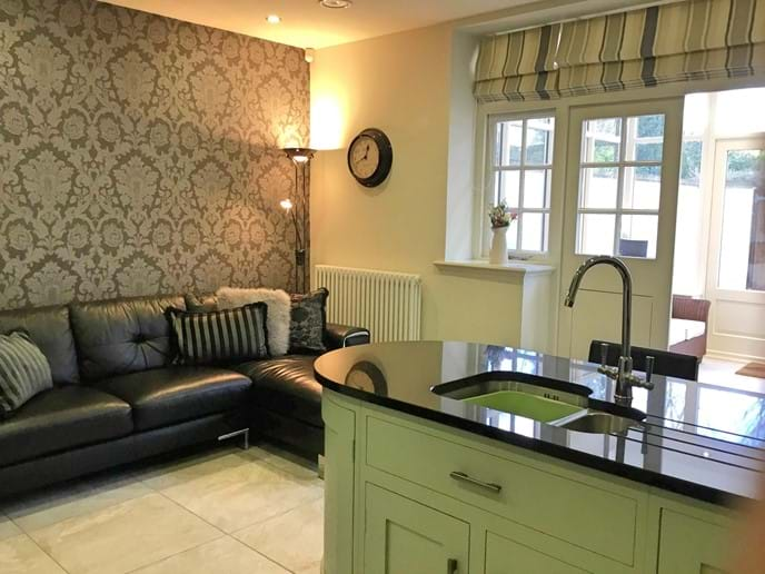 York holiday rental kitchen Minster Townhouse
