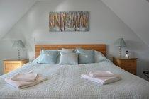 The Cottage - master bedroom
