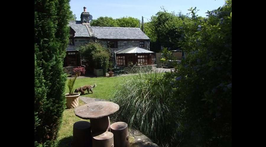 M Longs garden view