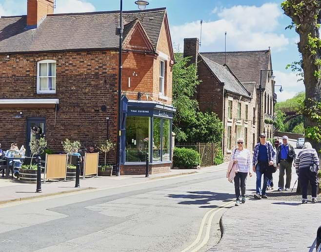 LOTS OF WONDERFUL PLACES TO EAT IN IRONBRIDGE