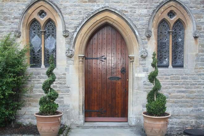 The Front Door to The Rectory Lacock