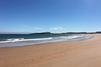 The beautiful Embleton Bay - just a 10 minute stroll from Periwinkle Cottage