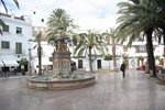 Vejer town square
