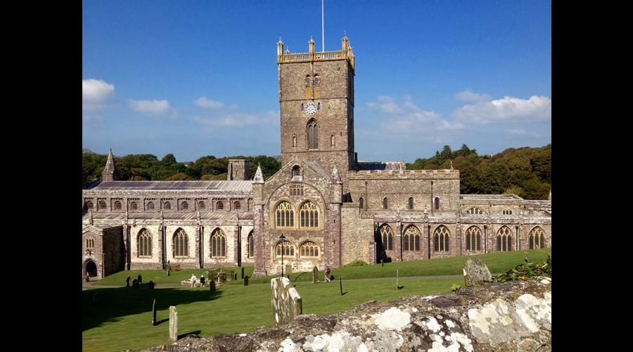St Davids cathedral.