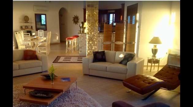 Asteri has a spacious, open plan living area