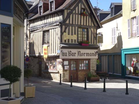 Au Bar Normandy just 100 metres from your holiday home