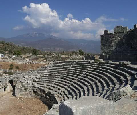 Amphitheatre at Xanthos