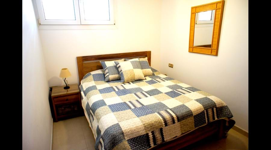Bedroom 3, 140x 200 memory foam mattress