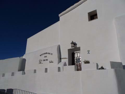 The Entrance to Restaurante Los Lucas.