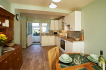Our open plan kitchen/diner