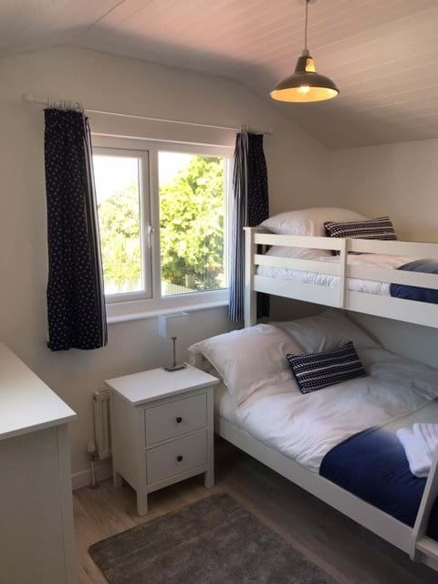 Bedroom 3 - double with single bunk above