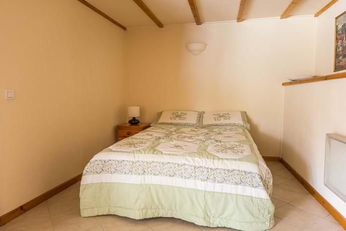 Ground Floor Sleeping Area Double Bed