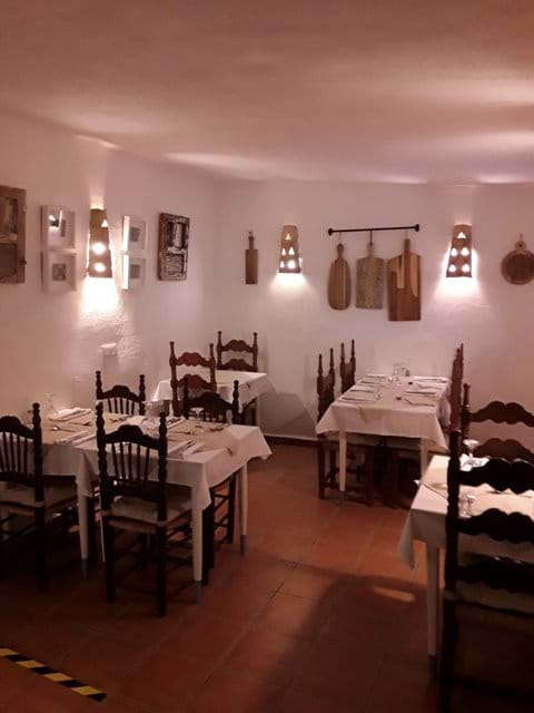 One of our Dining Areas viewed in the Evening.