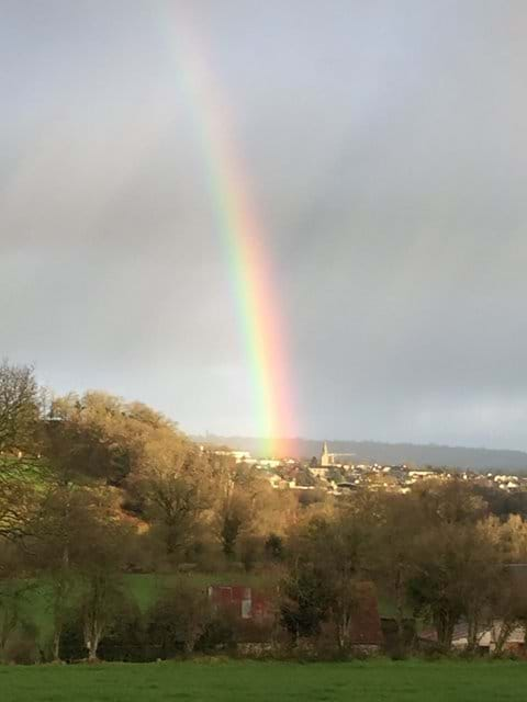 Rainbow over Tessy-sur-Vire