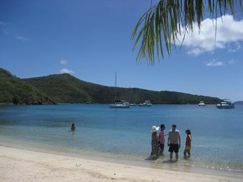Norman Island Beach