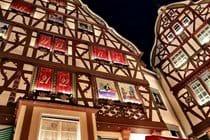 The Advent  Calender At Bernkastel Kues