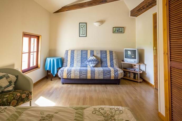 Bedroom Three - Family Room Sofa Bed