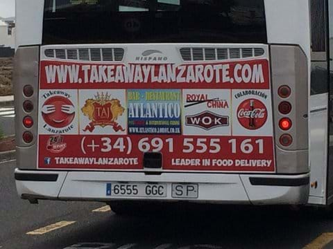 www.takeawaylanzarote.com - takeaway and a night in anyone?