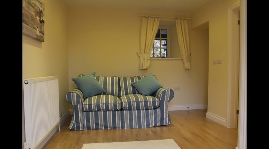 Sitting room / games room with sofa-bed