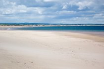 The amazing beach at Druridge Bay is a stone's throw from the cottage