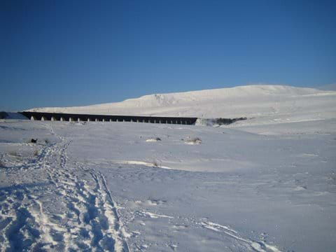 Snow at the Viaduct
