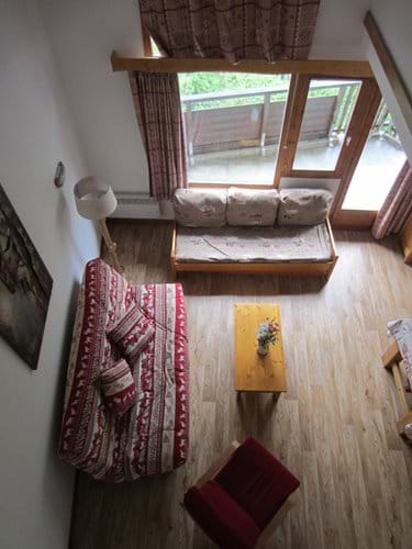 Living Area view from Mezzanine