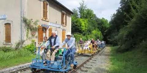 The velo rail is good fun for all the family