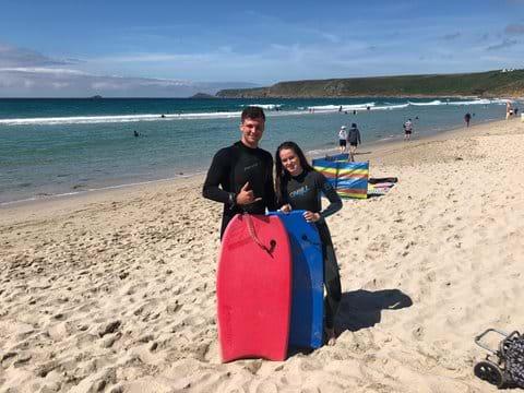 Beauty beaches to body board