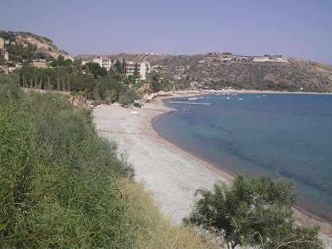 Pissouri Bay Beach.