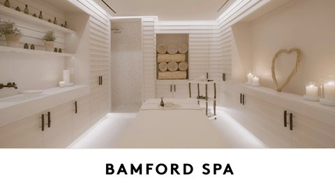 """Welcome to the first US Bamford Haybarn Spa at 1 Hotel South Beach. Indulge in a selection of holistic treatments, services and classes meant to nurture the mind, body and spirit, based on a heartfelt connection with nature"""