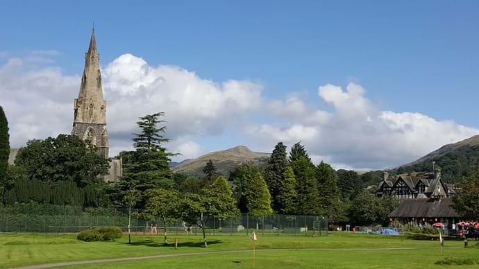 White Platts Recreational Ground in Ambleside