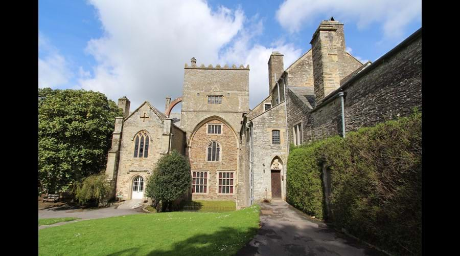 Buckland Abbey - historical home of Francis Drake