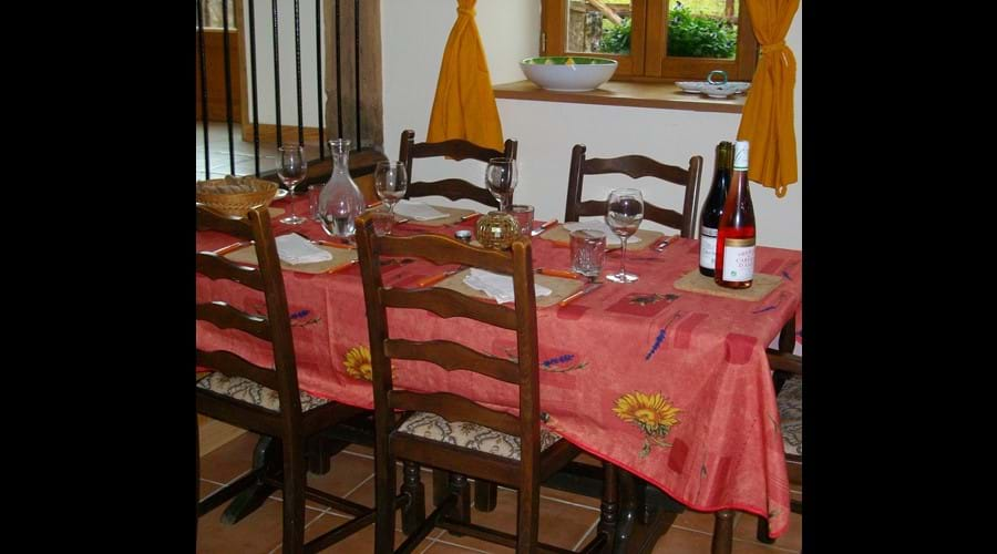 Eco-Gites of Lenault - a welcoming gite that sleeps 5 in the Calvados region of Normandy